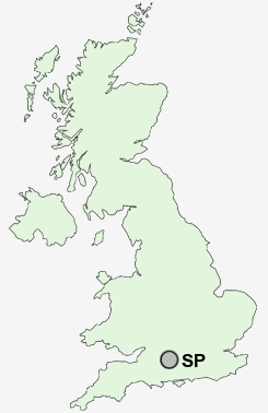 sp postcodes Map England Counties Towns uk postcode map